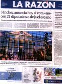 La Razón - 29 Octubre 2016