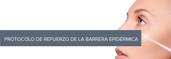 Protocolo de refuerzo de la barrera epidérmica